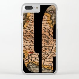 Iceland 1632 Clear iPhone Case