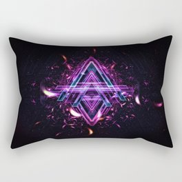 A for Abstraxtion Rectangular Pillow