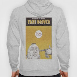 TAXI DRIVER hand drawn movie poster in pencil Hoody
