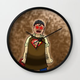 Luthorface Wall Clock