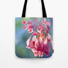 Angel Wing Begonia Tote Bag