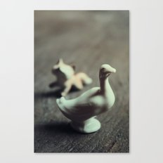goose & fox Canvas Print