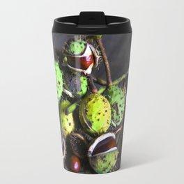 Autumnal Still Life with Chestnuts Travel Mug