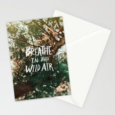 Breathe in the Wild Air Stationery Cards
