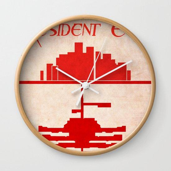 Resident Evil Wall Clock