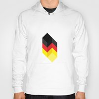 germany Hoodies featuring Germany by Dizzy Moments