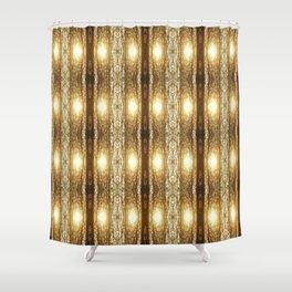 ForestFlies Shower Curtain