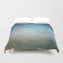 Toward The Sunset Duvet Cover
