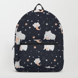 Children's Elephant Pattern I Backpack