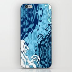 Ikat Medallions: Blue iPhone Skin
