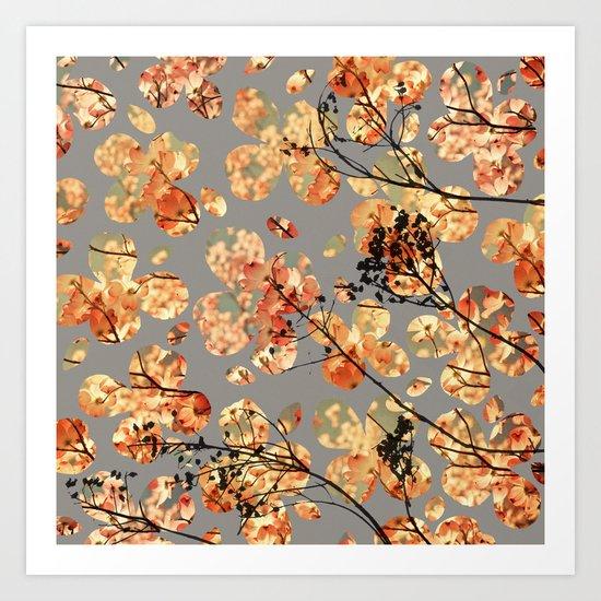 Dogwood Quilt Art Print