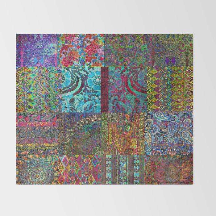 Bohemian Throw Blankets Beauteous Bohemian Wonderland Throw Blanket By Danieljohndesign Society60
