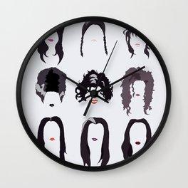 Creepy Girls Wall Clock