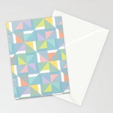 pinwheels - blue Stationery Cards