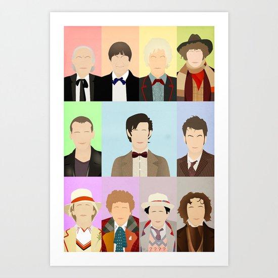 Call me... the Doctor. Art Print