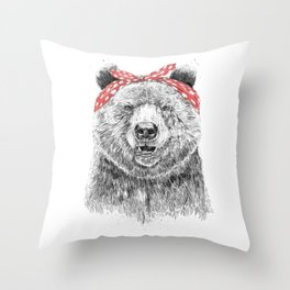 Break the rules (without text) Throw Pillow