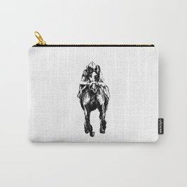 Racehorse Sketch Carry-All Pouch