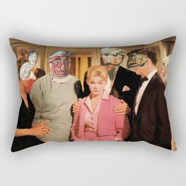 Mask Party Rectangular Pillow