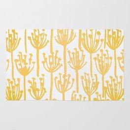 Golden Dandelions Rug
