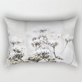 Frozen flowers Rectangular Pillow