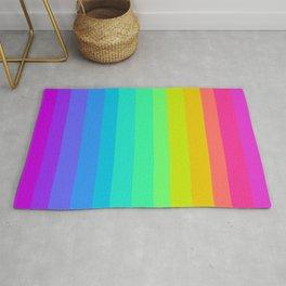 Neon Rainbow Rug