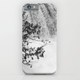 Gooseberry in Black and White iPhone Case