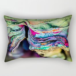 The Many Lives of Cadillac Ranch Rectangular Pillow
