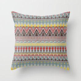 WHISKY AZTEC  Throw Pillow