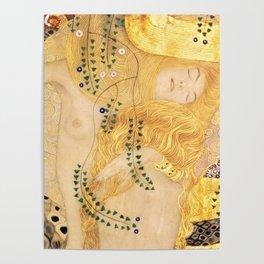 Water Serpents - Gustav Klimt Poster