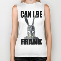 frank Biker Tanks featuring Frank by Iamzombieteeth Clothing
