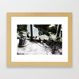 The Headless Mother Framed Art Print