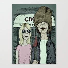 American Indie - Sonic Youth Canvas Print