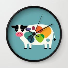 Awesome Cow Wall Clock