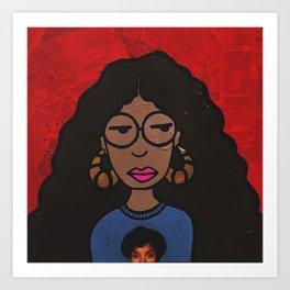 Bad & Boujee Daria Art Print
