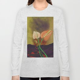 Last Flowers Before the Volcano Long Sleeve T-shirt