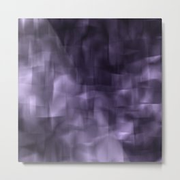 Purple abstract painting. Metal Print