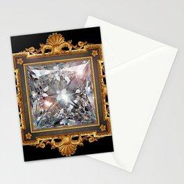 Royal Princess cut Diamond Stationery Cards