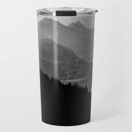 Grey mountains Travel Mug