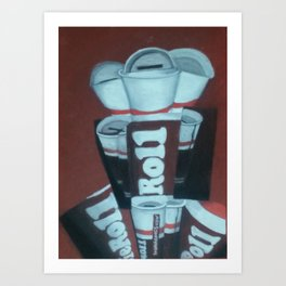 Tootsie Roll Art Print