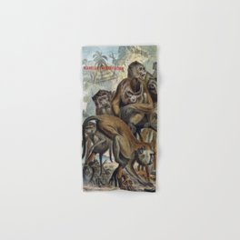 Macaques for Responsible Travel Hand & Bath Towel