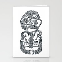 tiki Stationery Cards featuring Tiki  by AndreaGeddes
