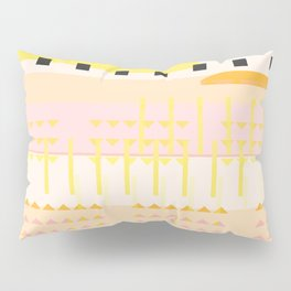 Desert Geometric Pattern Pillow Sham
