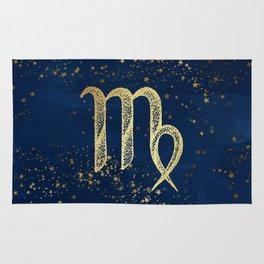 Virgo Zodiac Sign Rug