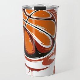 Basketball Best Basketball Player & Fan Gift Travel Mug