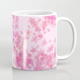 Pink Sakura Blossoms Coffee Mug