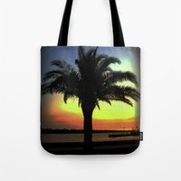 palm Tote Bags featuring Palm by Chris' Landscape Images & Designs