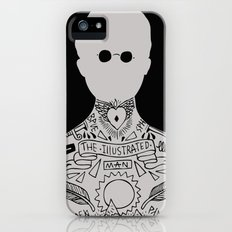 the illustrated man - bradbury iPhone (5, 5s) Slim Case