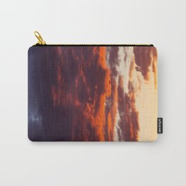 Sunset Clouds Red Yellow Blue Carry-All Pouch