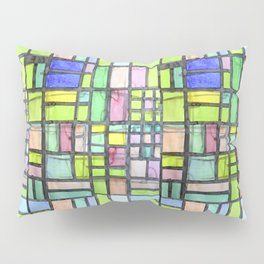 Homage to Mondrian Pillow Sham