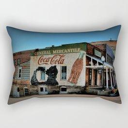 Oldest Town In Texas Rectangular Pillow